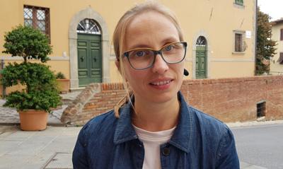 Innenarchitektin Cecilia