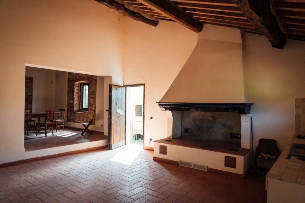 Restaurierter Innenbereich von ehemaliger Mühle