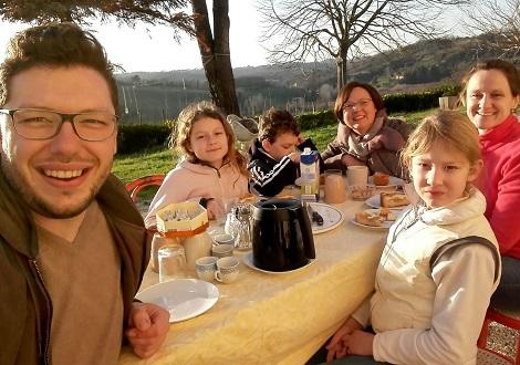 Mit der ganzen Familie in die Toskana ausgewandert und glücklich!