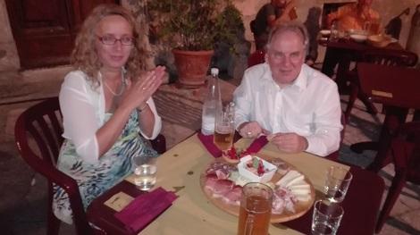 Mit Kristina Schmidt haben wir ein tolles Landhaus in der Toskana für uns und unsere 2 Klavierflügel gefunden